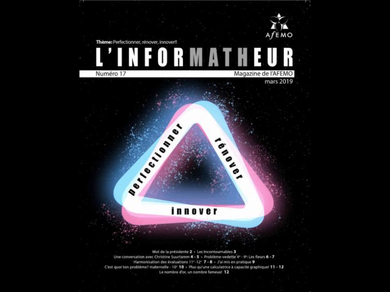 inforMATHeur – Volume 17